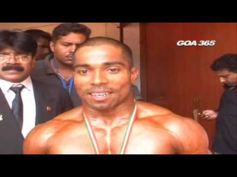 Ramachandra Bhat wins Gold in  National Body Building Championship
