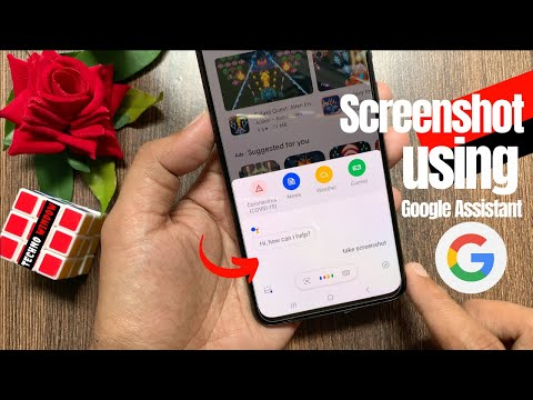 How to take a Screenshot using Google Assistant