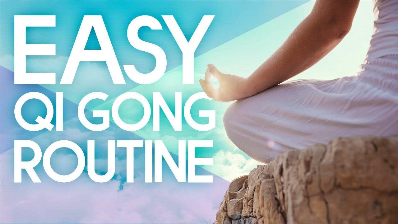 Easy Qi Gong Exercises for Beginners - 5 Minute Morning Routine
