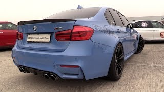 550HP BMW M3 F80 Stage 2 Tuning -  REVS & DRAG RACING!