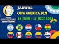 Jadwal copa america 2021 | 14 Juni sampai 11 Juli 2021