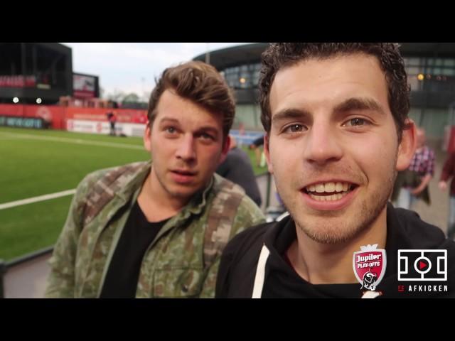 FC Afkicken - Trouwe Support bij Almere City FC