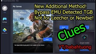 Bypass Emulator Detected PUBG Mobile Tencent Gaming Buddy (TGB)