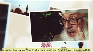 مترجم | مقام زوّار الإمام الرّضا (عليه السلام) يوم القيامة | المرجع الكبير الشيخ الوحيد الخراساني