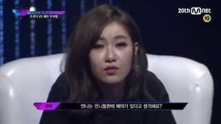 예지 VS 트루디 디스배틀 무삭제 (Unpretty Rapstar2)