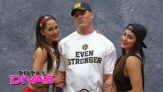 The Bella Twins meet the WWE Universe at Comic-Con: Total Divas, March 16, 2014