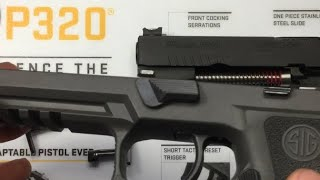 NEW Armory Craft P320 Sport takedown lever