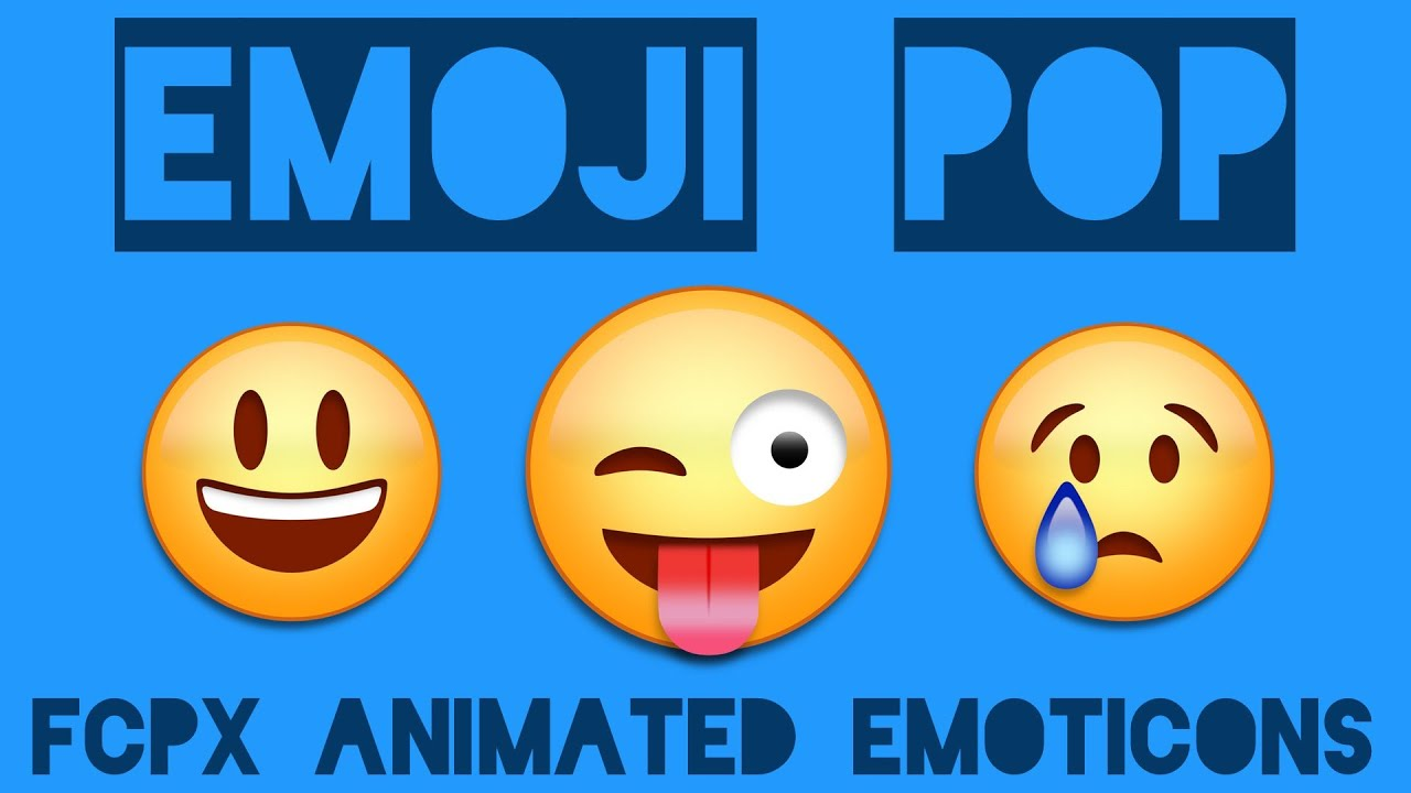 Animated Emojis For Final Cut Pro X Youtube
