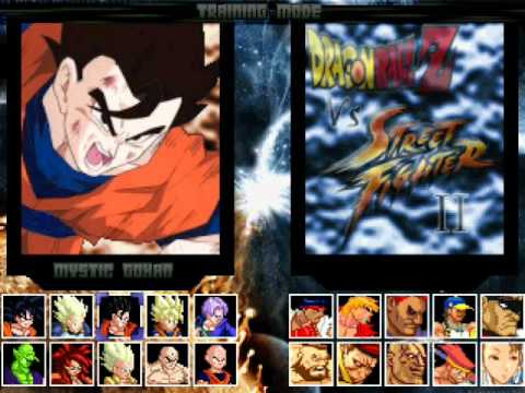 dbz vs street fighter - photo #19