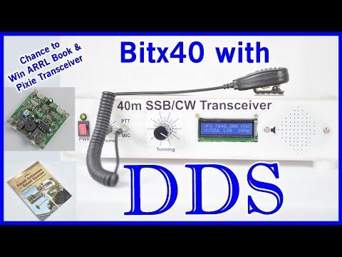 DIY How to add DDS to Bitx   Bitx40   Ham Radio HF Transceiver