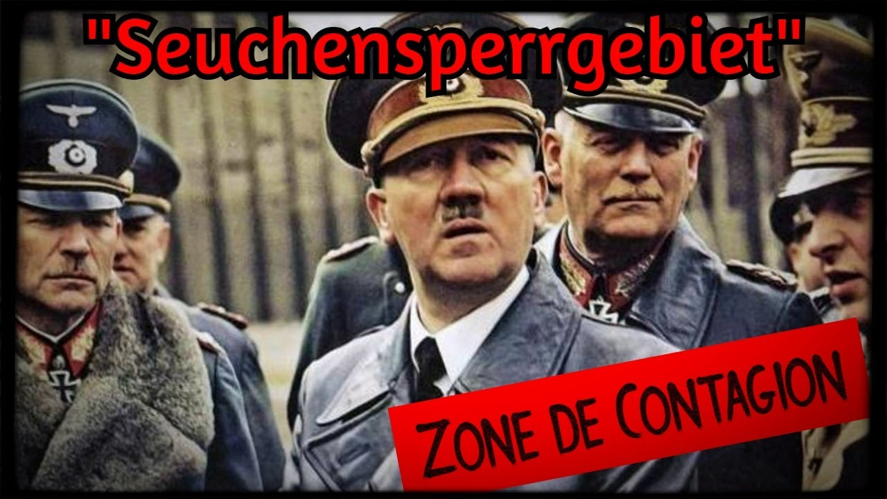 """Contrôle des populations: la technique """"nazi"""" de la Zone de Contagion"""