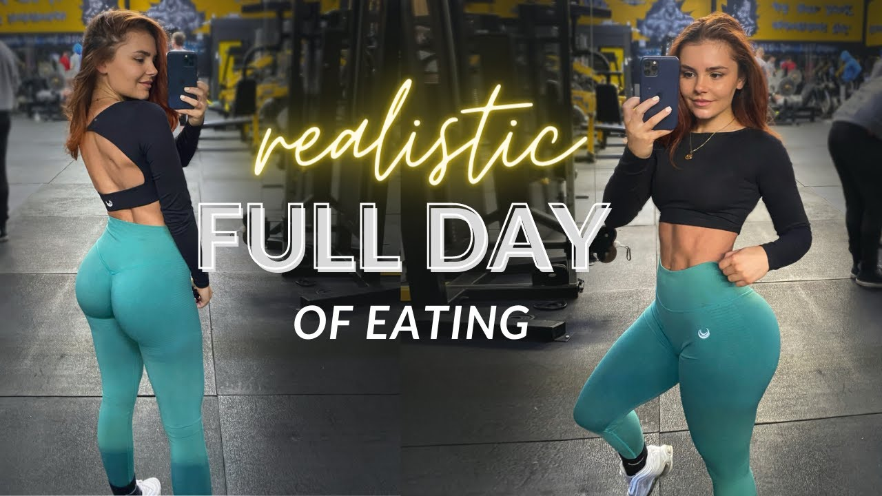 Realistic Full Day Of Eating | 130g Protein - vlog