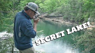 This place has a Secret Lake!
