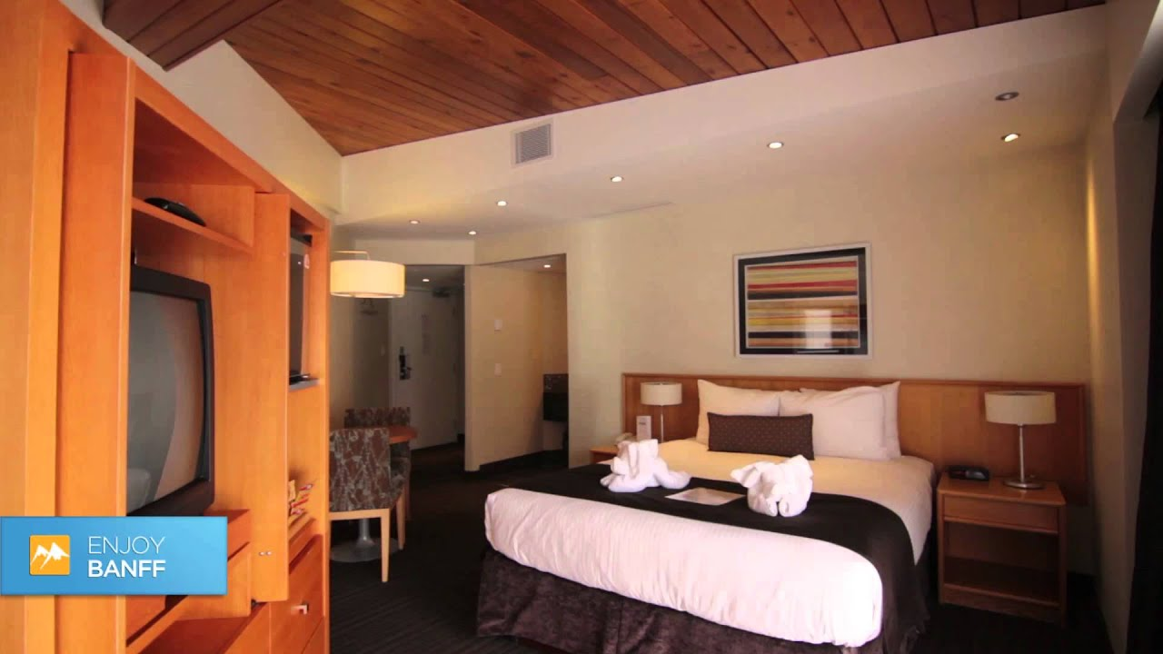 The Banff Aspen Lodge Superior Room Youtube