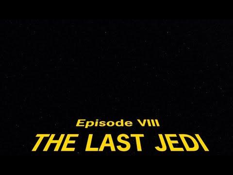 SW The Last Jedi Opening Crawl 4K Recreation (SPOILERS!!!)