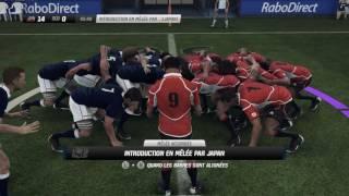 Japon - Ecosse : Test Match : Rugby Challenge 2