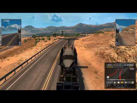 Play American truck Simulator - Drive from ShowLow to Tucson