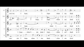 Weep O Mine Eyes, John Wilbye, Phemios Kammerchor