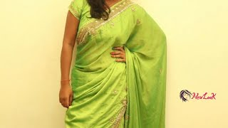 How to wear pure silk border s…