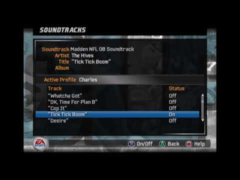 The Hives - Tick Tick Boom (Madden NFL 08 Edition)