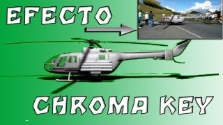 "Efecto Chroma Key Sony vegas 11 ""Tutorial"""