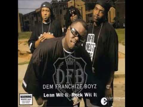 Dem Franchize Boyz Lean Wit It, Rock Wit It Chopped & Slowed  DJ Tramaine713