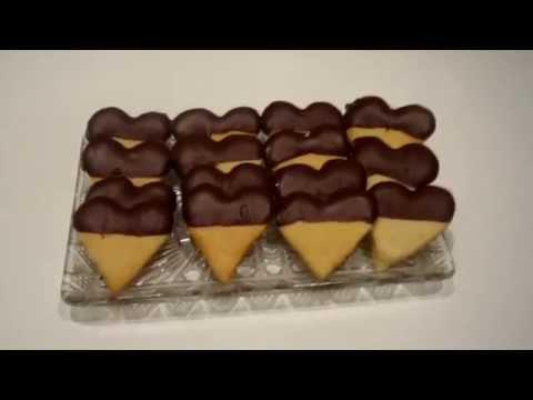 Galletas De Mantequilla Con Chocolate Youtube