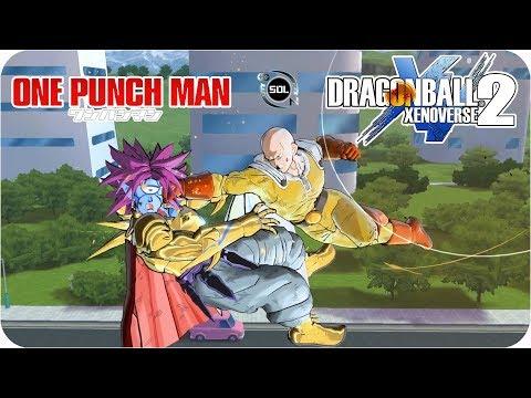 Dragon Ball Xenoverse 2 One Punch Man: Saitama VS Lord Boros Epic Battle