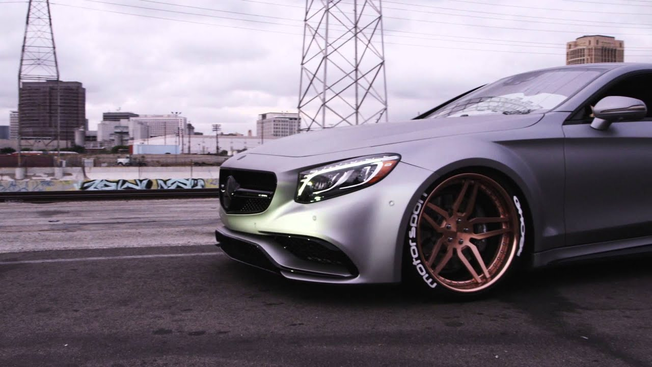 Mercedes S63 Coupe Wide Body Ghost Motorsports Youtube
