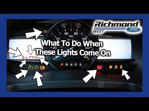 Ford Explorer Dash Light Guide