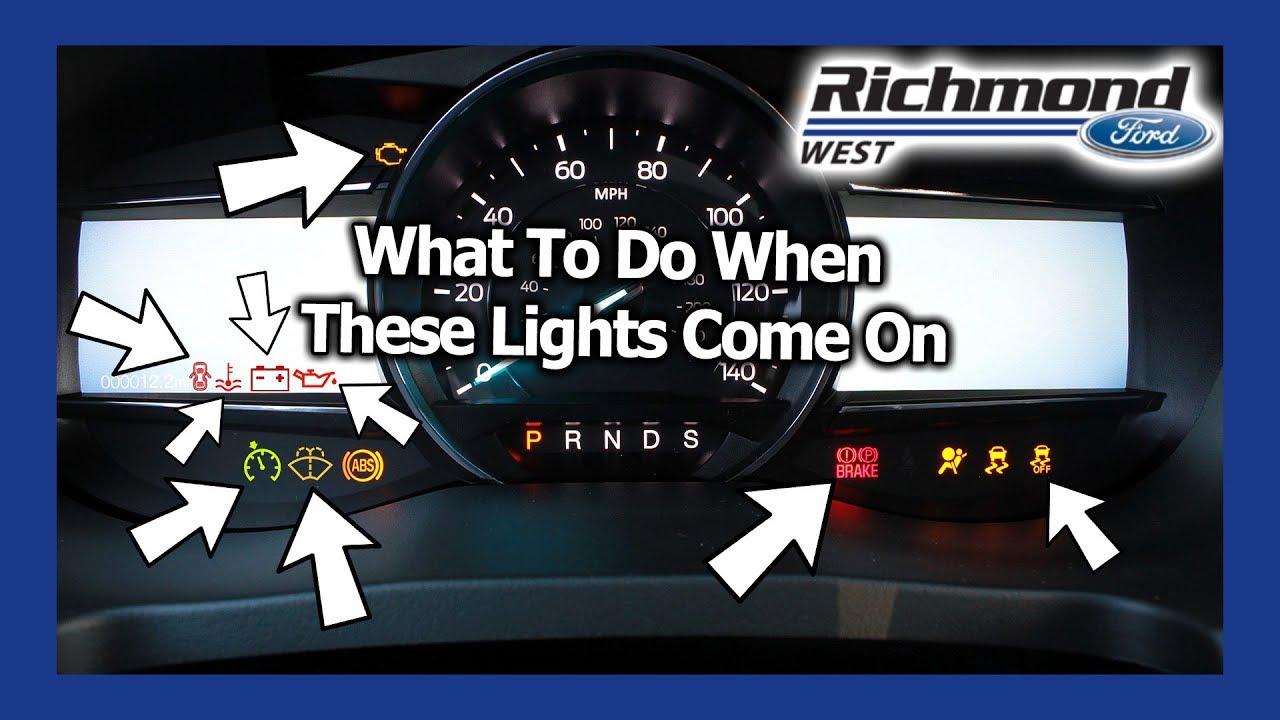 Ford Explorer Dash Light Guide Youtube 98 O2 Sensor Location