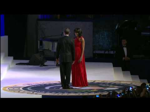 President Obama Speaks at Commander-In-Chief's Inaugural Ball 01/21/13