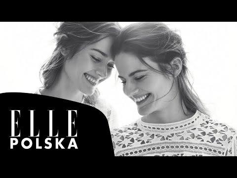 Monika i Anna Jagaciak w lipcowym ELLE