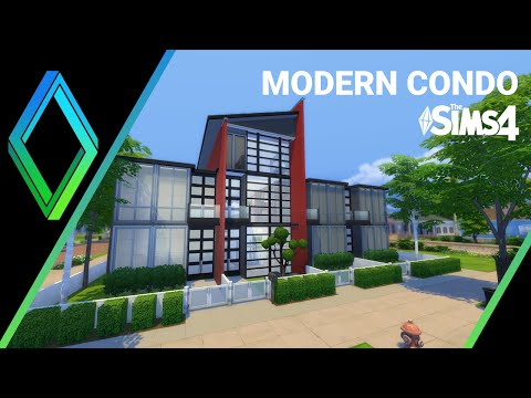 The Sims 4 House Building - Modern Condo