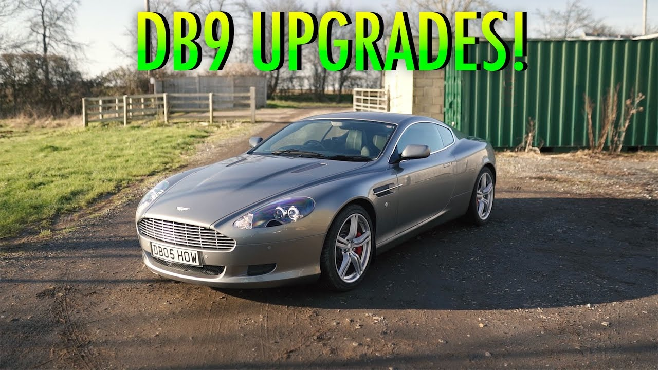 Everything To Know About Upgrading An Aston Martin Db9 Youtube