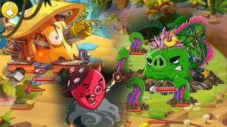 Angry Birds Epic - All Bosses & Ending