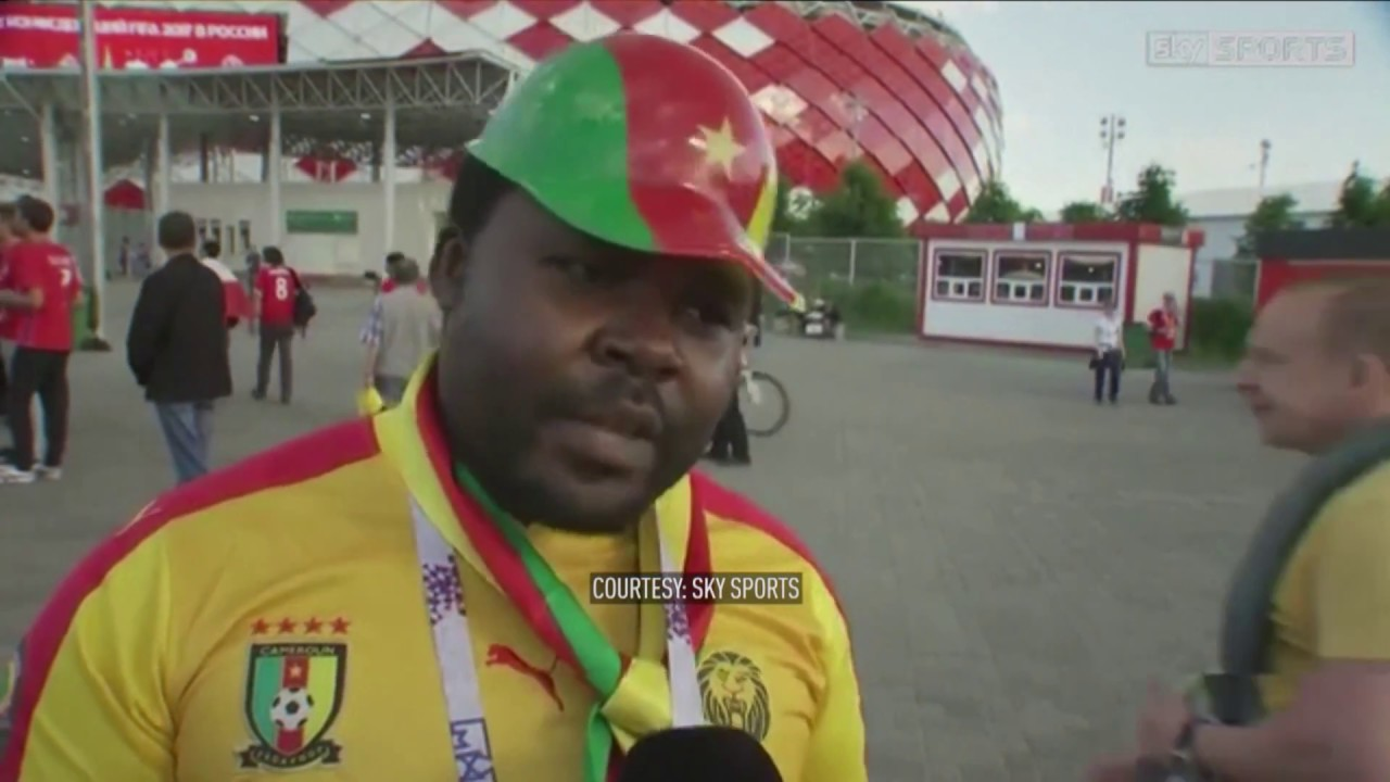 Confed Cup: Cameroon fans on misconceptions about racism in Russia