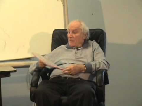 "Dr. Harold Mosak's Presentation ""Tactics in Counseling & Psychotherapy"" given in 2009"
