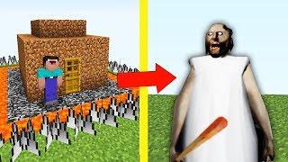 НУБ ПОСТРОИЛ САМЫЙ ЗАЩИЩЕННЫЙ ДОМ МАЙНКРАФТ  НУБ ПРОТИВ ГРЕННИ Exe ТРОЛЛИНГ ЛОВУШКА Minecraft Мульт