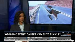 U.S. 89 Arizona Highway Collapse Explanation