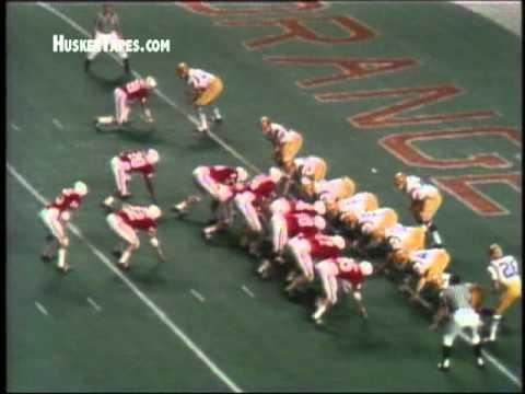 1971 Orange Bowl: Nebraska National Championship scoring drive.