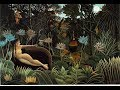 Jungle Paintings by Henri Rousseau
