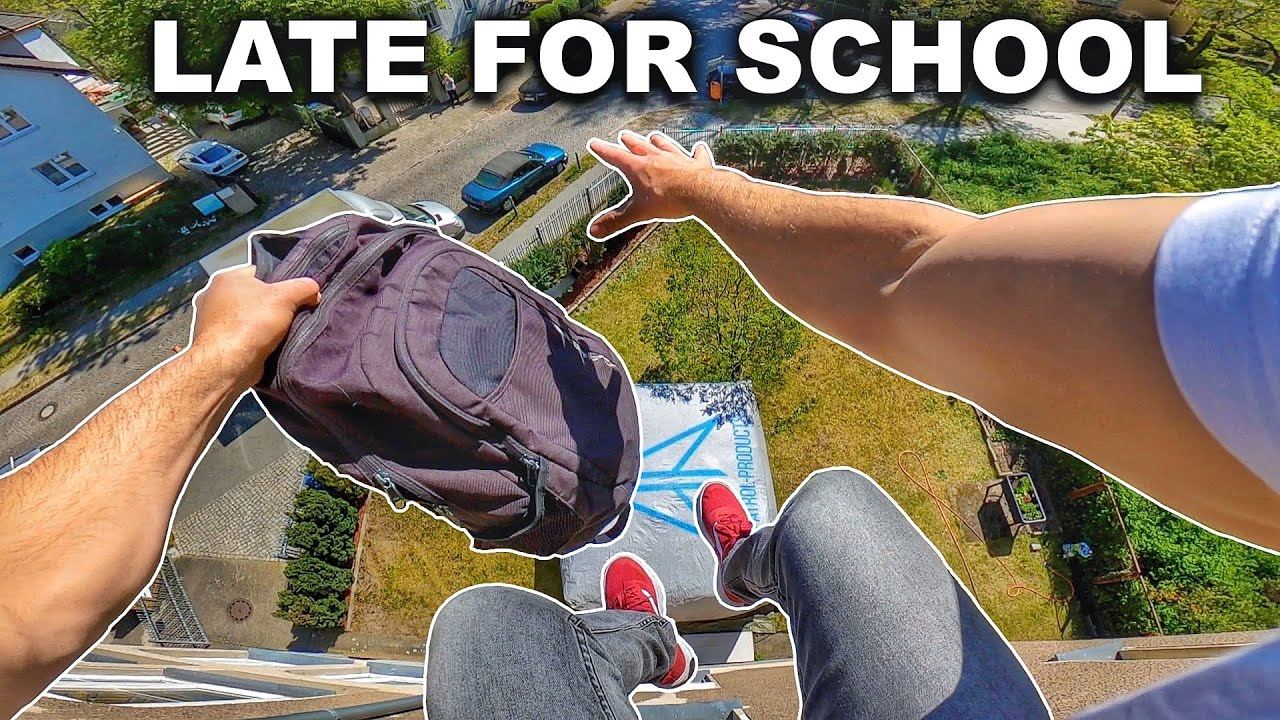 Download LATE FOR SCHOOL - Parkour POV