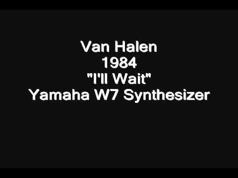 Van Halen - I'll Wait: Yamaha W7 Synthesizer