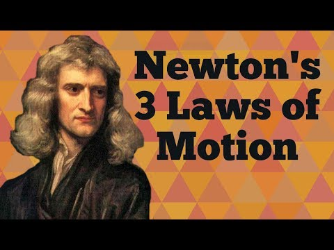 Newton's 3 Laws of Motion for Kids: Three Physical Laws of Mechanics for Children - FreeSchool