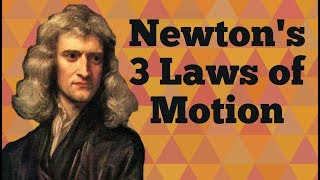 Newton's 3 Laws oḟ Motion for Kids: Three Physical Laws of Mechanics for Children - FreeSchool