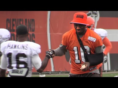 Robert Griffin III on the injury, the play and his return to the field