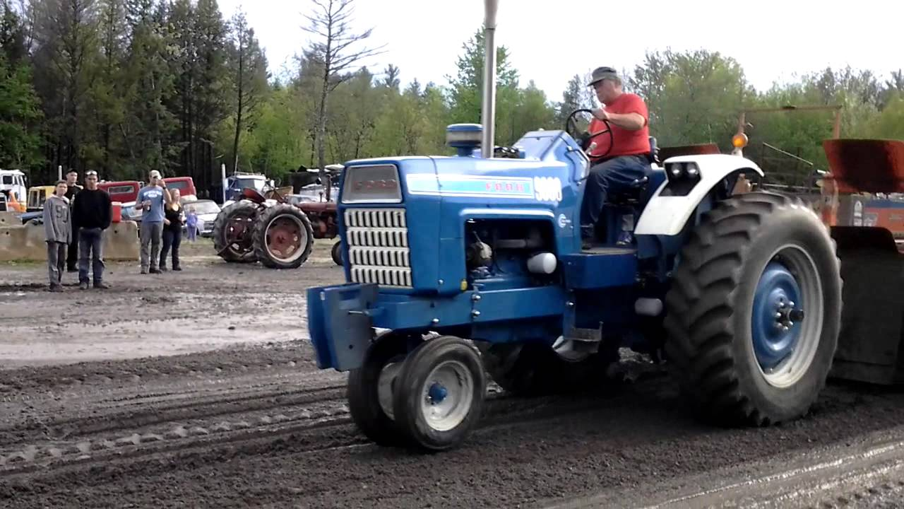 Ford Pulling Tractors : Ford tractor pull youtube