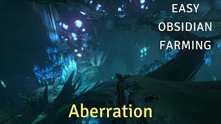 Ark Aberration: Easy Obsidian Farm