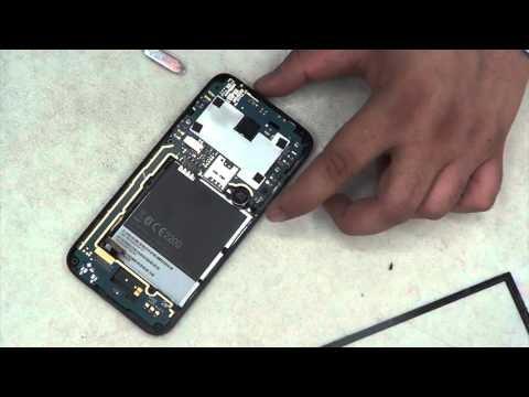 how to replace HTC desire 510 digitizer top glass